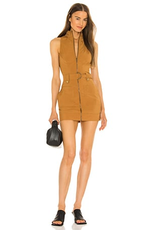 Sofia Belted Mini Dress