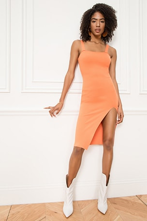Zoe Square Neck Dress