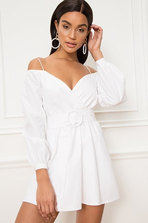Leia Off Shoulder Dress