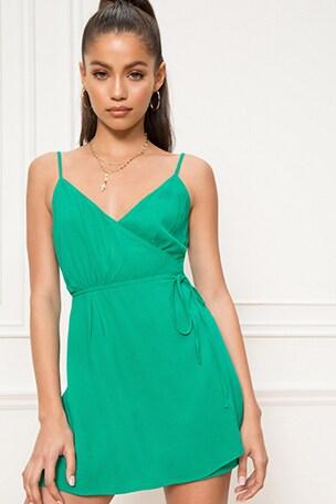 Lamiae Wrap Dress