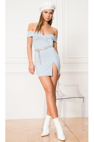 Naya Off Shoulder Dress