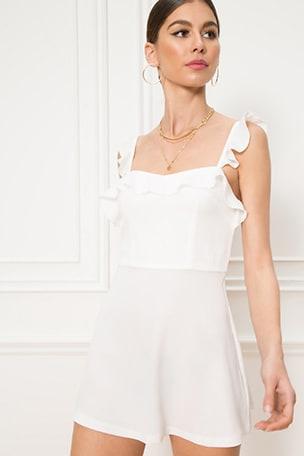 Peyton Ruffle Cami Dress