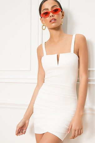Alma V Wire Mini Dress 44006c502