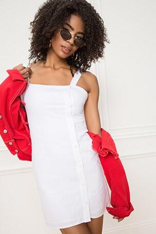 Hailee Button Up Dress