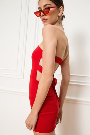 Gina Tie Back Dress