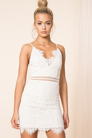 Remi Lace Mini Dress