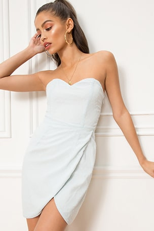 Alice Sweetheart Mini Dress