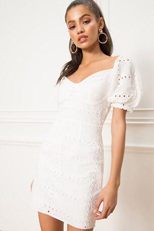 Shila Puff Sleeve Dress edae71dd7