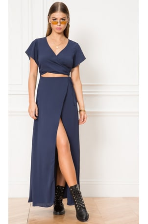 Casey Wrap Maxi Dress