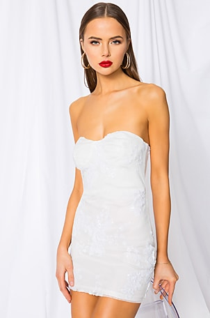 Sandra Strapless Dress