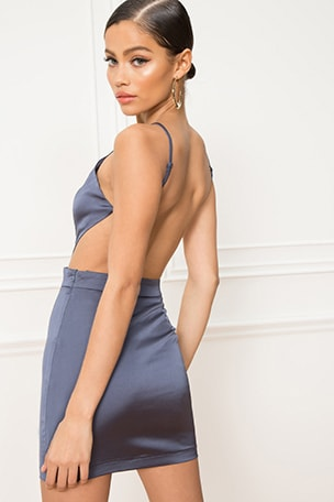 Susie Open Back Dress