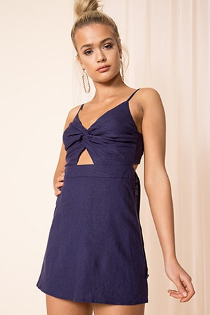 Stella Tie Back Dress
