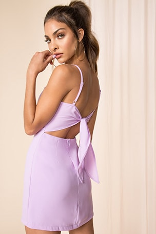 Emma Tie Back Dress
