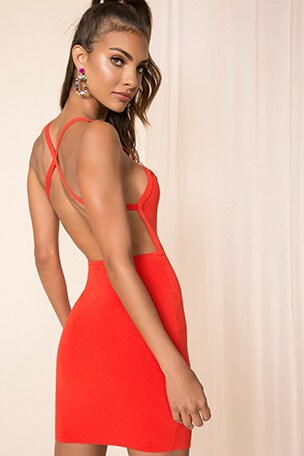 Barbara Open Back Dress