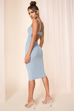 Taylor Open Back Dress