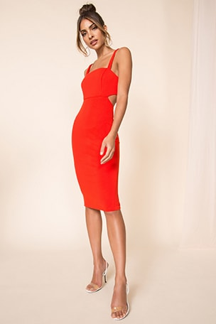 Ashlie Cut Out Dress