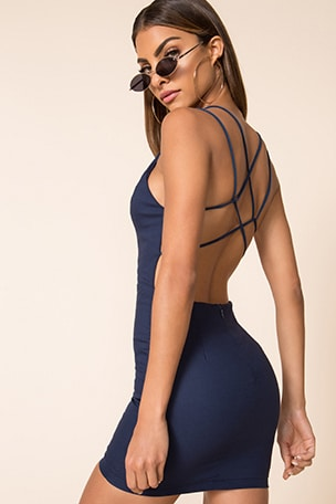 Grecia Strappy Back Dress