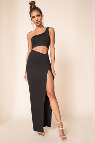 Erla Cutout Maxi Dress