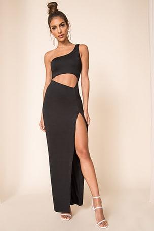 Erla Cutout Maxi Dress