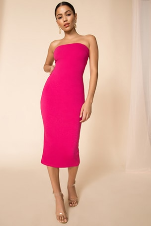 Lilian Strapless Dress