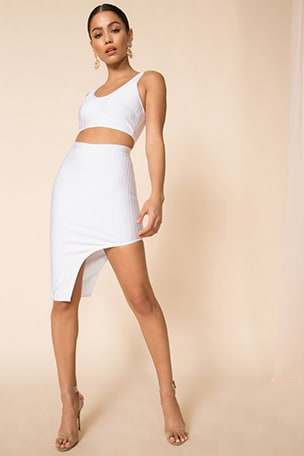 Brea Bandage Skirt Set