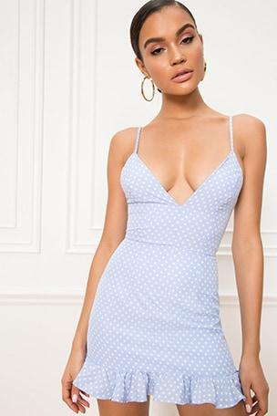 Mayra Ruffle Dress