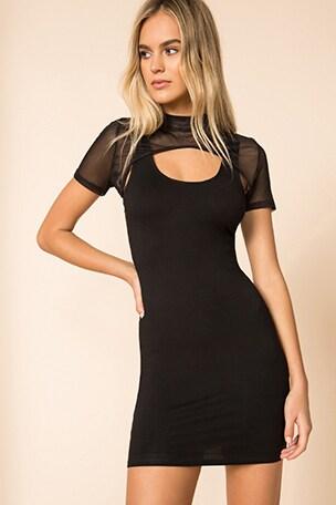 Tavi Mini Bodycon Dress