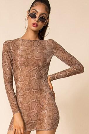 Talia Mesh Dress
