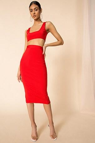 Akeela Midi Skirt Set