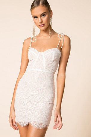 Lottie Lace Bustier Dress