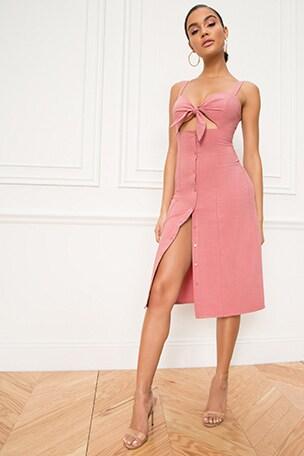 Sage Midi Dress