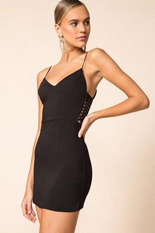 Jaylene Strappy Side Dress