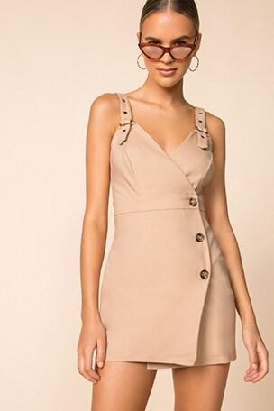 Ayah Trench Mini Dress