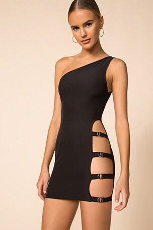 Celina Buckle Side Dress