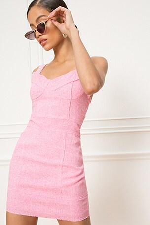 x REVOLVE Sirena Tweed Mini Dress