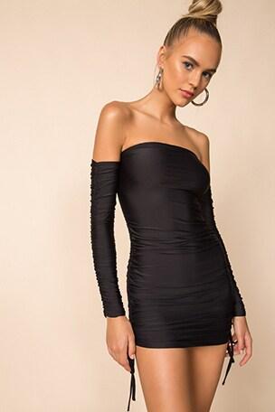 Tory Off Shoulder Dress