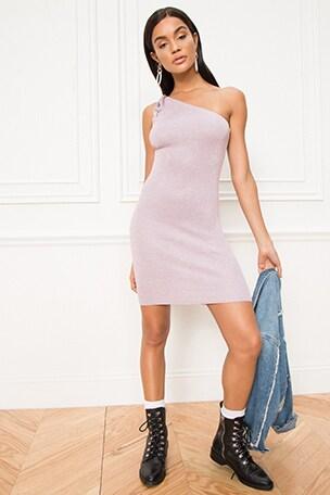 Marella One Shoulder Dress