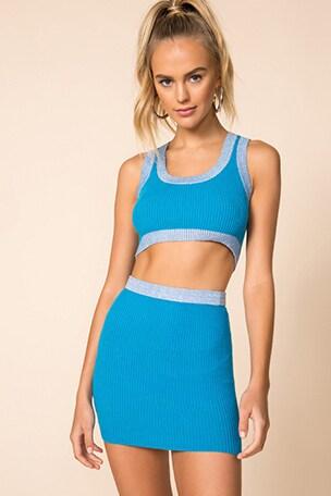 Katie Knit Skirt Set