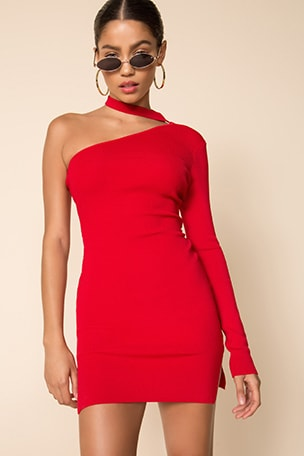 Shayna Choker Dress