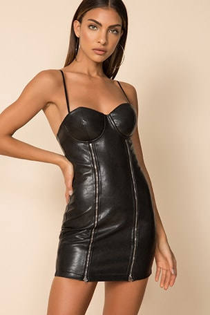 Betty Double Zip Dress