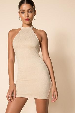 Lilith Halter Mini Dress