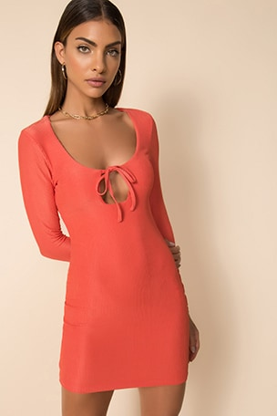 Rubie Keyhole Mini Dress