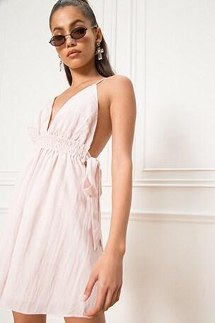 Laney Ruched Mini Dress