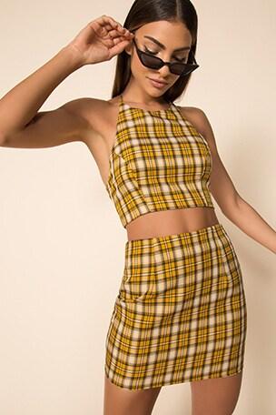 Deon Skirt Set