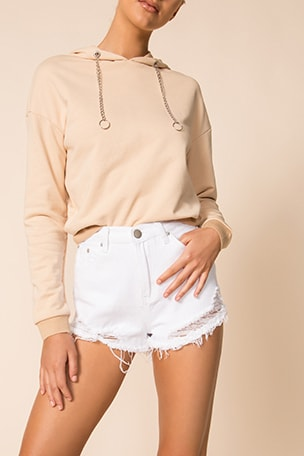 Lori Denim Shorts