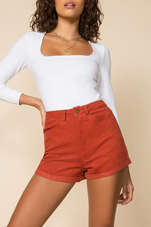 Dasha High Waisted Shorts