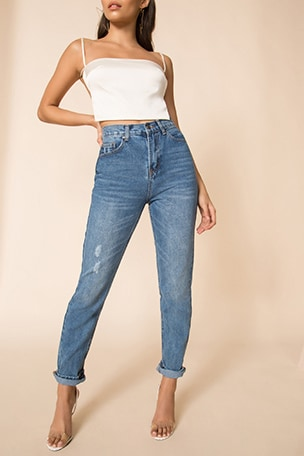 Ashley High Rise Jeans