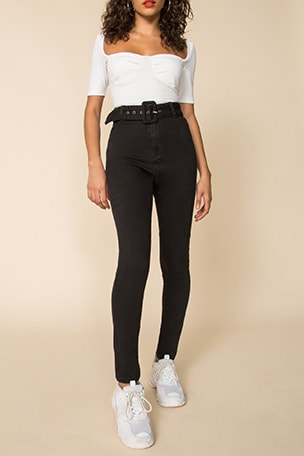 Alina Belted Pant