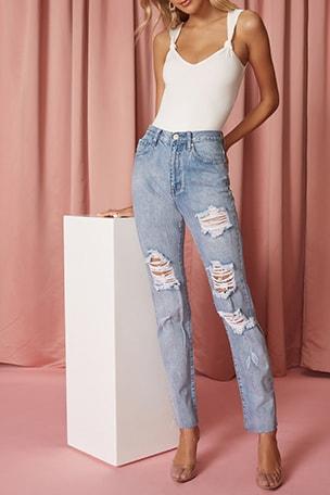 Ramona Straight Jean