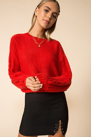 Parker Oversized Sweater